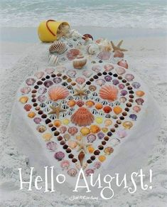 Hello August, Have A Happy Day, New Month, Happy Friday, Special Day, Beach Mat, Outdoor Blanket, Kids Rugs, Seasons