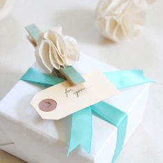 Tiffany blue + White
