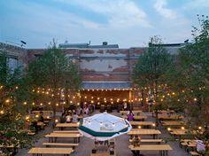 A Beer Garden, Philly-style   Hidden City Philadelphia