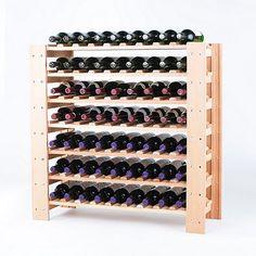 Swedish 63 Bottle Wine Rack Natural at Wine Enthusiast - $259.95