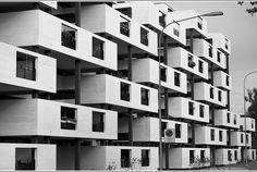 Wohnüberbauung Paul-Clairmont Strasse / Birmensdorferstrasse 467 / Wiedikon.  Gmür & Steib Architekten, Zürich