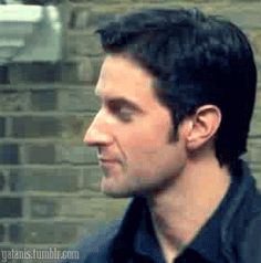 Imagine Richard looking at you for the first time. - Only Richard Armitage