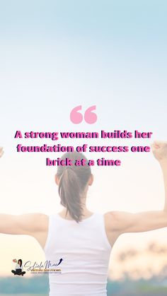 Strong Women, Foundation, Success, Foundation Series