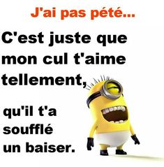 citations petits minions - Page 2 - codedaus Funny Facts, Funny Jokes, Funny Minion, Minion Humor, Citation Minion, Humor Grafico, Minions Quotes, Images Minions, Funny Photos