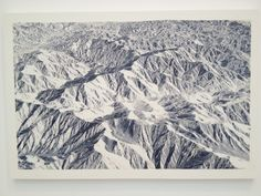zeugm:Toba Khedoori, Untitled (mountains 2), oil on linen