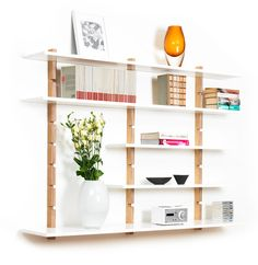 Abel shelf system from Pur Norsk