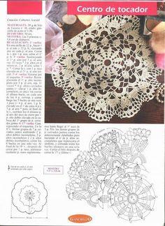 World crochet: Napkin 123