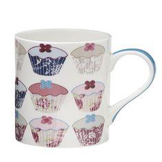 Floral Cupcake Mug - From Lakeland