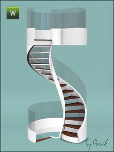 Gosik's Fusion spiral stairs and railings
