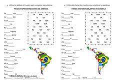Elementary Spanish, Ap Spanish, Spanish Lessons, How To Speak Spanish, Spanish Teacher, Spanish Classroom, Teaching Spanish, Spanish Worksheets, Spanish Vocabulary