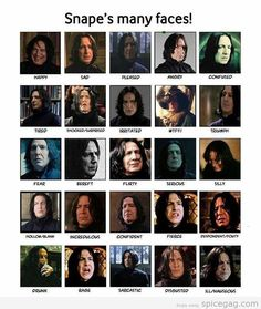 Who knew Snape had any mood besides pissed off? Ha ha. Just kidding... I loved him! -ls