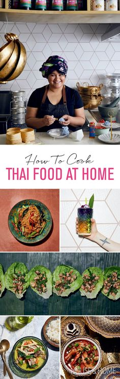 Get go-to recipes and best advice for cooking Thai food at home. | Photographer: Michael Graydon and Nikole Herriott