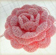 Free Crochet Rose Pattern Awesome Free Crochet Flower Patterns Roses Of Free Crochet Rose Pattern Luxury White Rose – Free Crochet Pattern Roses Au Crochet, Knitted Flowers, Crochet Motifs, Love Crochet, Knit Crochet, Crochet Appliques, Beautiful Crochet, Easy Crochet, Diy Crochet Rose