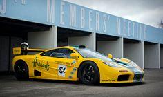 David Clark - 1995 McLaren F1 GTR - Goodwood 75MM | Iconic livery...  www.motorsportinpictures.com
