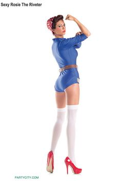 Discover an incredible selection of costumes for women at Party City. Get the latest female costume looks from TV and film, Halloween classics, DIY kits and more. Wicked Costumes, Adult Costumes, Career Costumes, Professional Costumes, Halloween Costume Shop, Ruby Slippers, Rosie The Riveter, Party Stores, Costume Dress