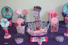 Doc McStuffins Party #docmcstuffins #party