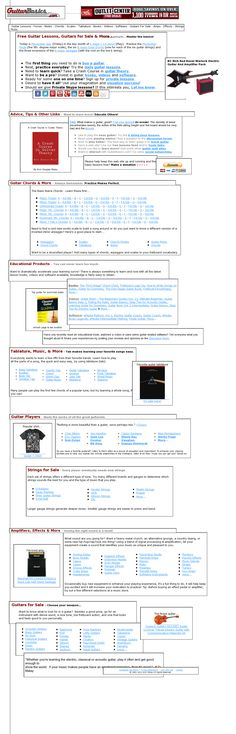 Free guitar lessons >> guitar lessons --> www.guitarbasics.com