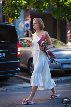 Claire Beermann Street Style Street Fashion Streetsnaps by STYLEDUMONDE Street Style Fashion Photography