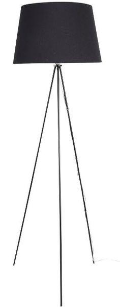 7.krs pääty lattiavalaisin MONTI 140 cm Mattamusta 31e