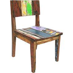 dining chairs reclaimed wood