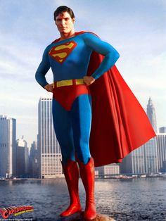 Christopher Reeve in Superman The Movie