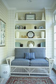 Cozy Sitting Space | Linda Benson Interiors