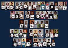 Joyeux anniversaire mamie Mado 90 bisous - 14 petits enfants + 21 arrières petits enfants