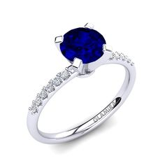 Our array of sapphire engagement rings can also be customized to harness the beauty and sparkle of diamonds. You can express your deep love and commitment by giving your lover a sapphire engagement ring. Weird Look, Ring Crafts, Engagement Ring Styles, Love Symbols, Precious Moments, Sapphire, Sparkle, Wedding Rings, Rings
