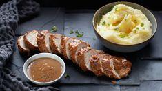 Porsaan sisäfilee | Paisti ja fileet | Yhteishyvä Sausage, Pork, Meat, Recipes, Kale Stir Fry, Sausages, Recipies, Ripped Recipes, Pork Chops