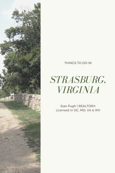 Visiting or moving to Strasburg, Virginia? Read my list of the best things to do in Strasburg. #strasburg #northernvirginia Stuff To Do, Things To Do, Realtor License, Leesburg Va, Fairfax County, Loudoun County, Northern Virginia, Great Places, Things To Make