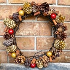 Simple Holiday Wreath