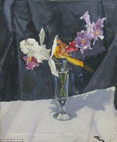 Lost work: Still Life With Orchids was given by Churchill to a family friend