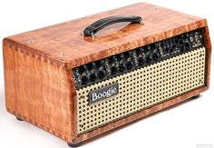 Mesa/Boogie Private Reserve Mark V Head Quilted Bubinga