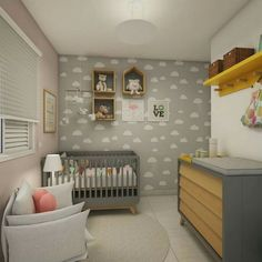 Explore the Baby Nursery Room Design Ideas and Inspiration at The Architecture Design. Visit for more images and ideas for decorating your children's room. Baby Bedroom, Baby Boy Rooms, Baby Room Decor, Nursery Room, Nursery Ideas, Plant Nursery, Nursery Themes, Bedroom Ideas, Boys Room Design