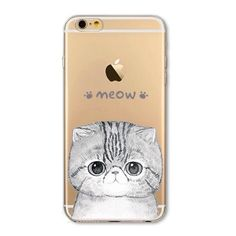 "iPhone 6 PLUS Case NEW 'Kitty's Meow'   Fits 5.5"" iPhone 6 PLUS & iPhone 6S PLUS  Soft silicone case  NO LIP  Covers back and sides  Comes with screen protector  PRICE FIRM, unless bundled Accessories Phone Cases"