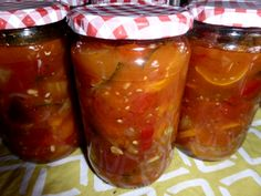Chutneys, Convenience Food, Diy Food, Pickles, Zucchini, Meal Prep, Chili, Nom Nom, Salsa