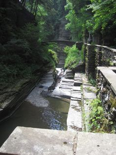 Ithaca, NY.  Hiking in the gorges is amazing.