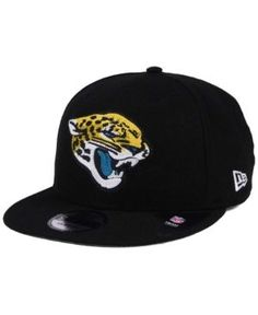 New Era Jacksonville Jaguars Chains 9FIFTY Snapback Cap - Black Adjustable