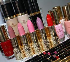 *** Cosmo Calista ***: Oriflame Giordani Gold Jewel Lipsticks in 5 nieuwe kleuren