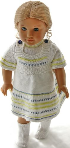 Knitting patterns for baby born dolls clothes Baby Knitting Patterns, Crochet Patterns, Knit Crochet, Crochet Hats, Doll Dress Patterns, Baby Born, Southern Belle, American Girl, Doll Clothes