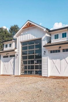 Arent they look amazing? Metal building homes in Farmhouse style are simply the most beautiful and most durable buildings! Arent they look amazing? Metal building homes in Farmhouse style are simply the most beautiful and most durable buildings! Metal Barn Homes, Metal Building Homes, Pole Barn Homes, Building A House, Morton Building Homes, Building Plans, Garage Design, Exterior Design, House Design