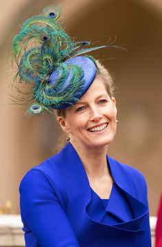 sophie countess of wessex   Sophie, Countess of Wessex, is the wife of Prince Edward, making her ...