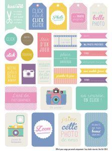 printable etiquettes imprimer photo