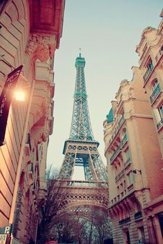 Ever see the Eiffel Tower from this angle? We love this image.