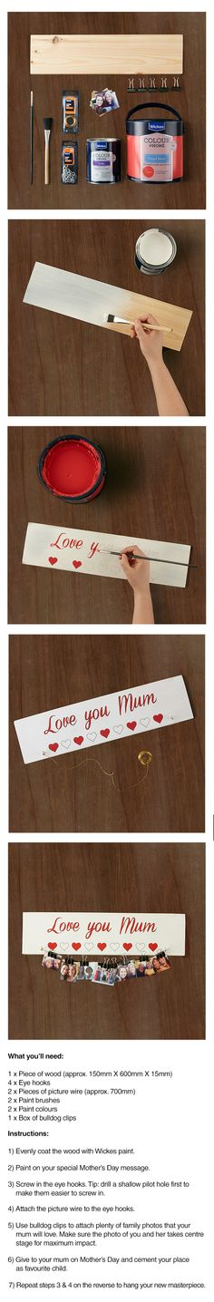 Treat your mum to a special Mother's Day gift with this hand made gift idea.
