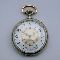 Omega pocket watch from 1903 via MarCels. Click on the image to see more!
