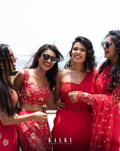 A giggle between best friends captured in between all the formal photos makes for a raw and real photo. This gorgeous bride and her lovely sisters made for a stunning picture with chosen colour coordinated styles and accessories for this exclusive shoot. Zinnias, Squad, Sisters, Bridesmaid, Colour, Formal Dresses, Friends, Photos, Accessories