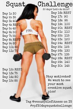 New Goddess monthly challenge!!! Starting tomorrow, August 1st, SQUATS! This is your squat challenge ladies. Share this with your friends and lets see how many people we get on board! The plank challenge inspired people all over the US, even out to Alaska! Share your squaring pics or mini vids on Instagram and Facebook!