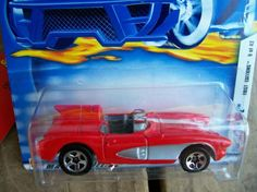 HOT WHEELS 2002 FIRST EDITION #9/42 ... CORVETTE SR-2  FREE SHIPPING!!!