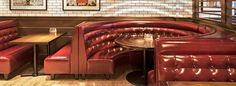 Image result for diner circle booth